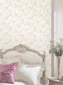 Fine Decor Everlyn Wallpaper - Pink by New A-Brend