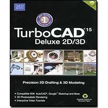 TurboCAD 15 Deluxe 2D/3D