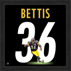 Jerome Bettis Pittsburgh Steelers 20x20 Framed Uniframe Jersey Photos by Biggsports