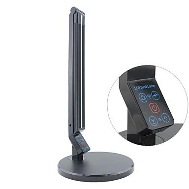 9W Touch Color Variable And Dimmable Led Desk Lamp, 100~240V Input