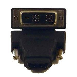 Micro Connectors, Inc. HDMI Male to DVI-D Female Adapter (G08-250 )