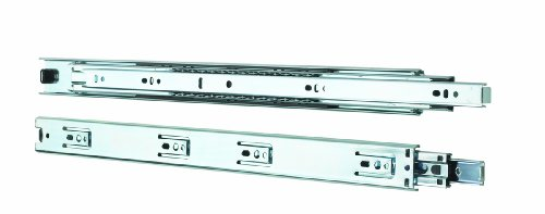 Knape & Vogt 4100P 10 Side Mount Full Extension Drawer Slide, 10-Inch, Pair (10 Inch Drawer compare prices)
