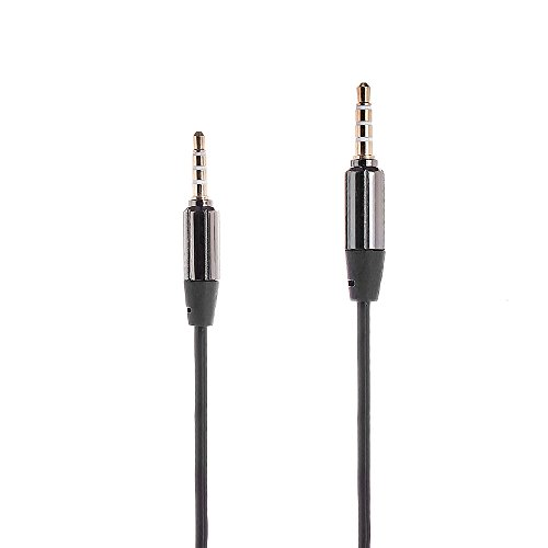Best Deals! Poweradd™ 3.5mm Coiled Male to Male Stereo Audio Cable with Gold Plated Plugs for iPho...