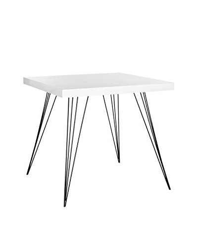 Safavieh Wolcott Accent Table, White/Black