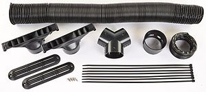 JEGS Performance Products 70605 Defroster Kit Includes: (Defroster Hose compare prices)