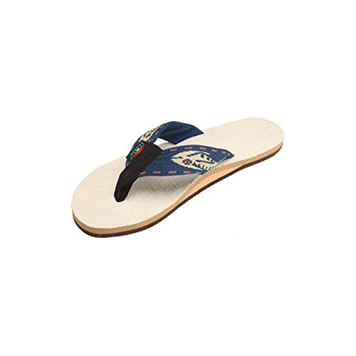 a0c074b848bb Rainbow Sandals Men s Single Layer Hemp Sandal with a Nylon - Import It All