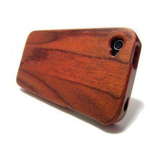 eimolife Unique Handmade Natural Wood Wooden Bamboo Hard Case Cover for iphone 4 4s (Iphone 4 Wood Cover compare prices)