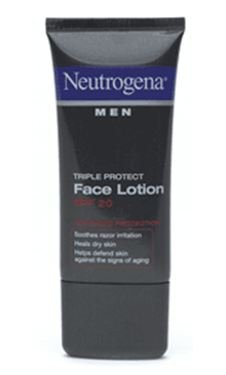 Best Cheap Deal for Neutrogena Men Triple Protect Face Lotion, SPF 20, Advanced Formula, 1.7 Fluid Ounce (50 ml) from Neutrogena - Free 2 Day Shipping Available