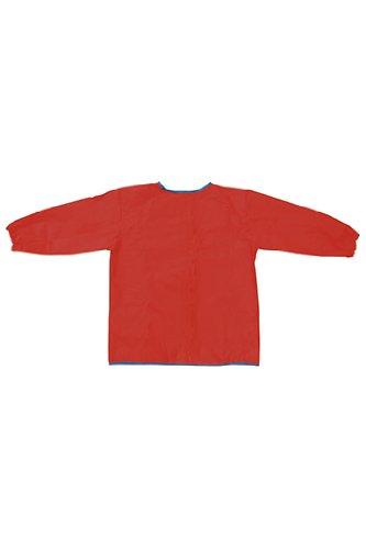 Long Sleeve Artist Smock Red