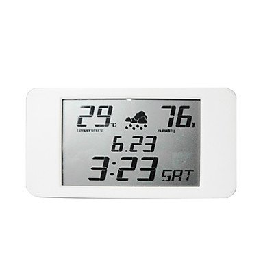 Modern Weather Forecast Lcd Alarm Clock