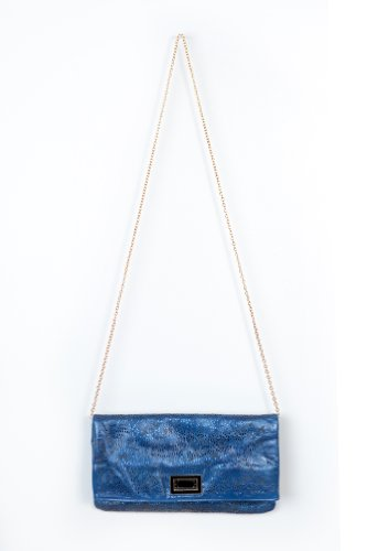 Simple Girl Clutch in Blue