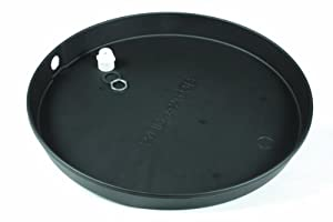 "Camco 11260 21""ID Plastic Drain Pan"