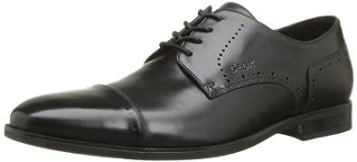 Geox U New Life H, Chaussures,  homme - Noir (Black), 41 EU