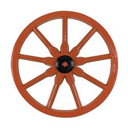 Plastic Wagon Wheel Party Accessory (1 count)