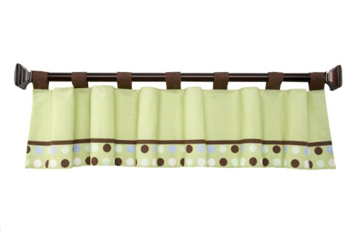 NoJo Little Bedding  Jungle Pals Window Valance - 1