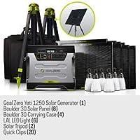 Goal Zero Ultimate Yeti 1250 Solar Gener...