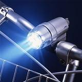 AHA-3303自動点灯5LEDライト 暗くなって自転車を動かすと自動で点灯♪