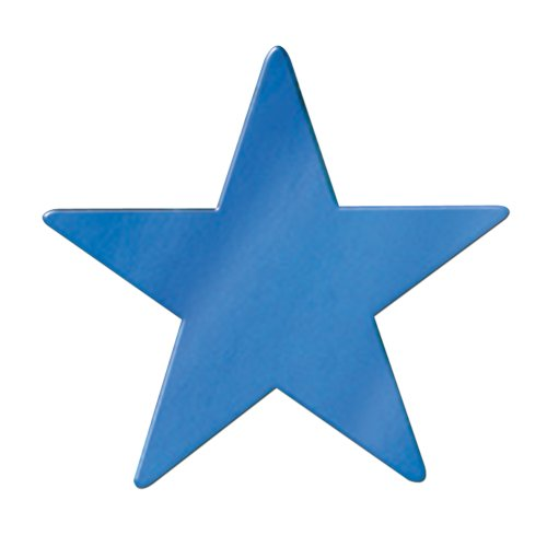 Beistle 50998-B Jumbo Foil Star Cutout, 20-Inch