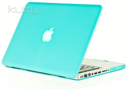 Buy  Kuzy - 15inch Teal / Turquoise Hot BLUE Rubberized Hard Case Cover for NEW Macbook PRO 15.4