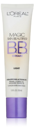L'Oreal Paris Magic Skin Beautifier BB Cream, Light, 1.0 Fluid Ounce