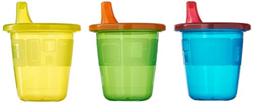 The First Years Take & Toss Spill-Proof 7 Ounce Cups 6 ea Assorted Colors (Sippy Cups compare prices)