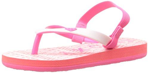 Roxy Tw Tahiti V Flip Flop (Toddler),Pink/White,8 M Us Toddler front-993776