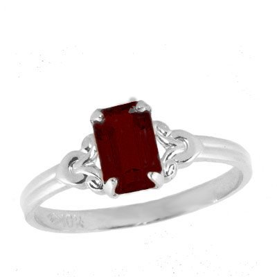 Girls Jewelry - Sterling Silver January Birthstone Ring (size 4)