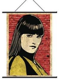 """Watchmen Wallscroll """"Silk"""" Pop Art"""