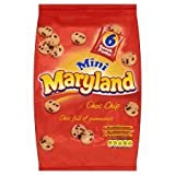 Maryland Mini Choc Chip Cookies 6 Pack 150G