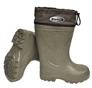 Amazon Com Marlin Insulated Deck Boot Size 10 Fishing