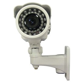 New Vonnic Camera C105w 1/3inch Sony Super Had Ccd Outdoor 520tvlines 150ft Nightvision White