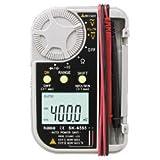 カイセ 高精度&コンパクト デジタルマルチメーター SK-6555