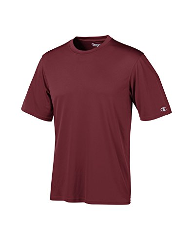 ChampionCW22 Essential Double Dry Tee Maroon- Size Medium (Unit Per Pack 1)