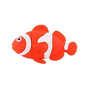 Novelty 8GB USB Flash Drive - Finding Nemo Clown Fish. Keyring Attached Presented In A Magnetic Gift Box. Twice The GB Half The Price