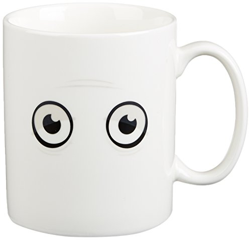 Fred & Friends WAKE-UP CUP Heat-Sensitive Color Changing Mug