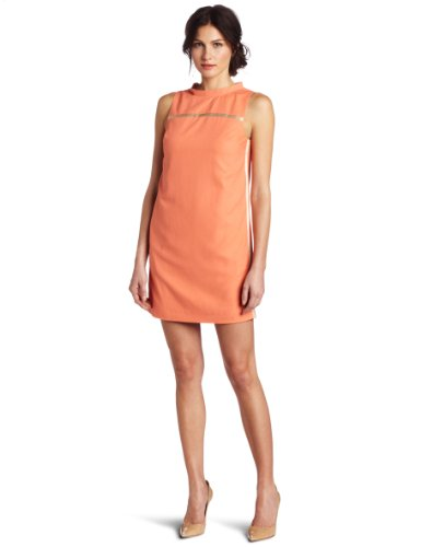 Robert Rodriguez Women's Piped Shift Dress