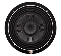 Rockford Fosgate P3Sd4-8 P3 Punch Shallow Mount 8-Inch Dvc 4-Ohm Subwoofer