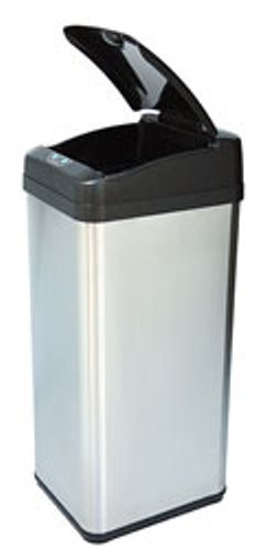 iTouchless - IT13MX - iTouchless 13 Gallon Extra-Wide Stainless Steel Automatic Sensor Touchless Trash Can