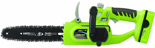 Earthwise LCS31010 10-Inch 18 Volt Lithium Ion Cordless Electric Chain Saw