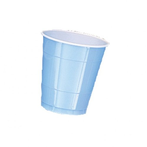 Baby Blue 12oz Plastic Cups (20ct)