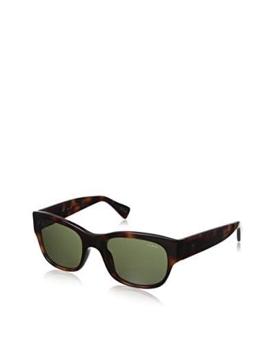 Lanvin Women's SLN583 Sunglasses, Dark Havana