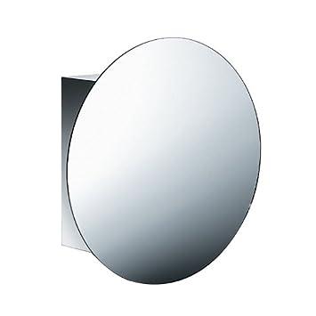 Pika cabinet with circular mirror