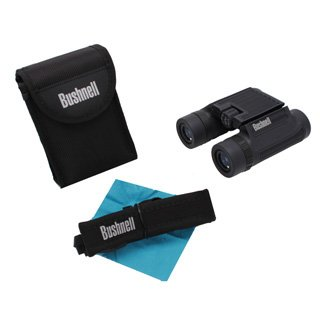 Bushnell H2O Black Roof Prism Compact Foldable Binoculars (8 X 25Mm)