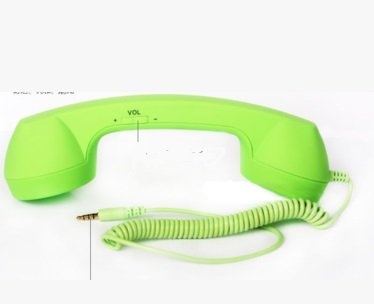 Echo Retro Handset - Wired Headsets (Green)