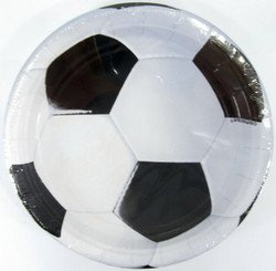 Soccer Fan Dinner Plates 8ct