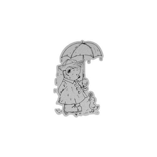 Penny Black Decorative Rubber Stamps, Sunshine in The Rain