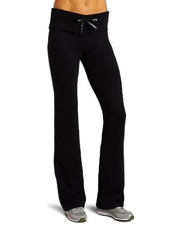 Danskin Women's NYCB Bootleg Pant, Black, Medium