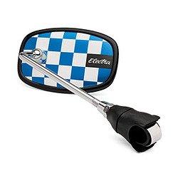 Electra Checkerboard Bicycle Mirror (Blue)