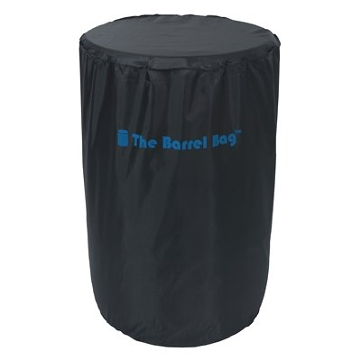 The Barrel Bag WB-382 ''The Barrel Bag'' 55-Gallon Drum Cover Black (Barrel Cover compare prices)