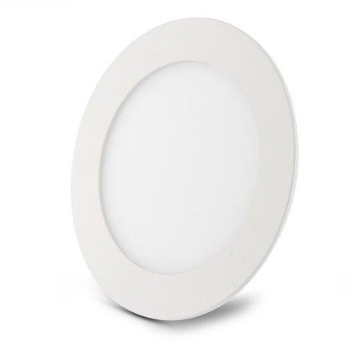 SODIAL(R) 9W LED 2835 SMD Panel Lampe Einbauleuchte Deckenleuchte Wandleuchte Dimmbar Weiss